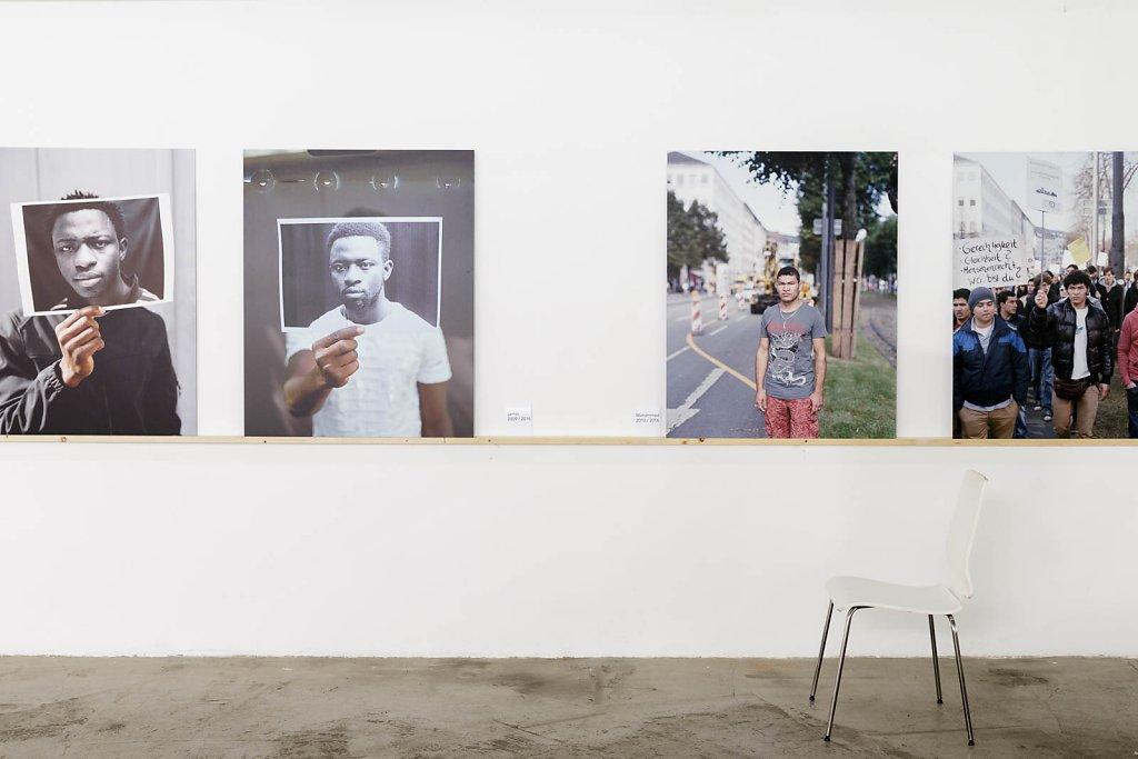 no more refugees - Ausstellungssprojekt