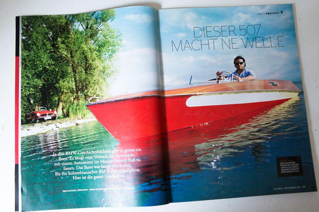 BMW Rennboot - Playboy