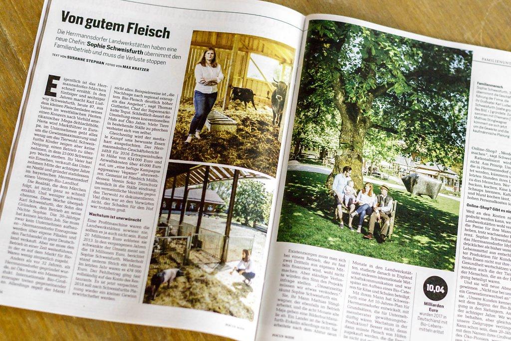 Sophie Schweisfurth / Herrmannsdorfer Landwerkstätten - für FOCUS Magazin