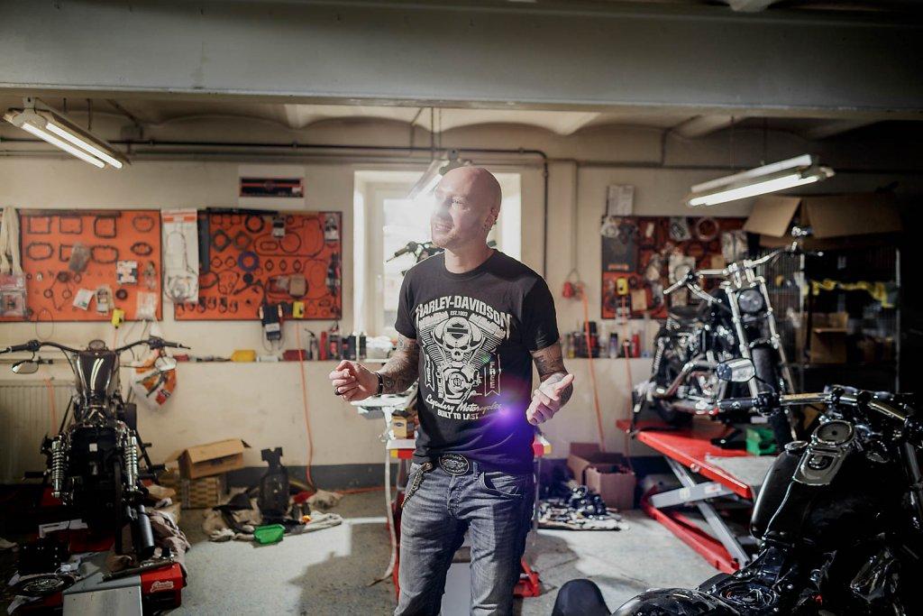 Daniel Denk - Harley Davidson
